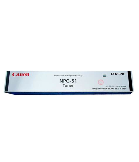 Toner Npg 51 Original 1 canon npg 51 toner buy canon npg 51 toner at low price in india snapdeal