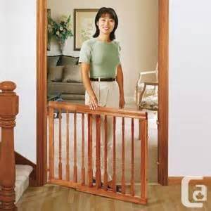 evenflo home decor wood swing gate wood stairgate images frompo 1