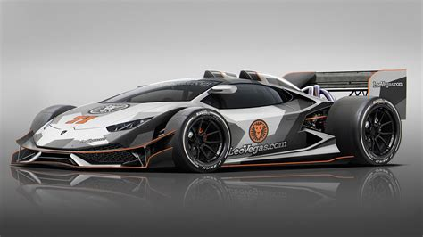 Picture Of Lamborghini This Is A Lamborghini Huracan F1 Car Wired Point