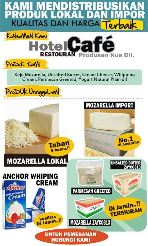 Keju Mozarella Anchor jual keju parmesan bubuk paling murah pabrik keju mozarella indonesia