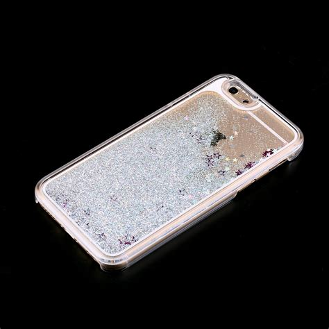 Hardcase Stick Iphone 6g6s Iphone 6 Cover Iphone 6 Silicon Iphon dynamic liquid glitter flow sand cover for
