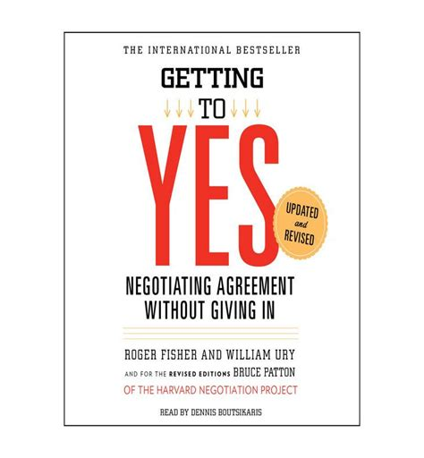 getting books getting to yes negotiating agreement without giving in