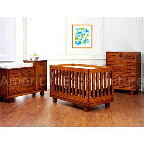 American Made Baby Cribs Soho Convertible Baby Crib Made In Usa American Eco Furniture
