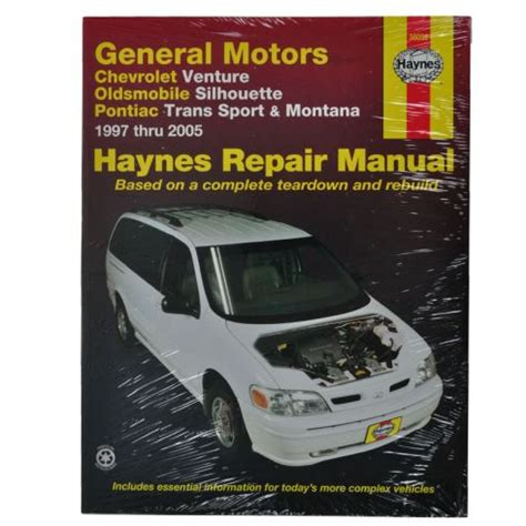 car repair manuals online free 1997 chevrolet venture user handbook haynes repair manual 1amnl00062 at 1a auto com