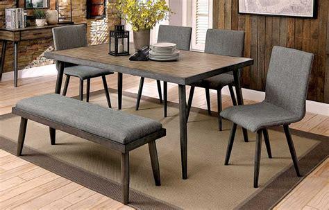 mid century modern dining table set fernald mid century modern dining table set