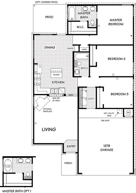 the dominion floor plan killeen tx new homes for sale