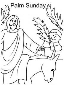 palm sunday colors coloring pages of waving coloring pages