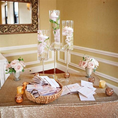 Wedding Reception Entrance by 25 Best Ideas About Wedding Entrance Table On