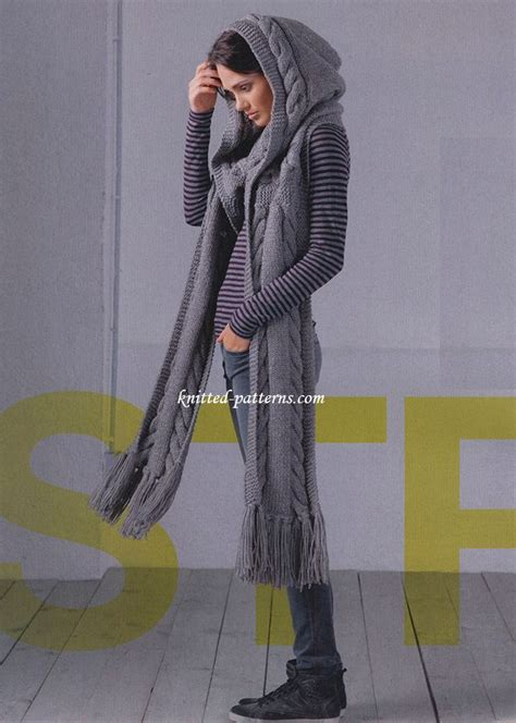 best 25 hooded scarf ideas on free scarf