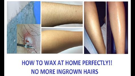 how to make wax at home how to wax at home perfectly
