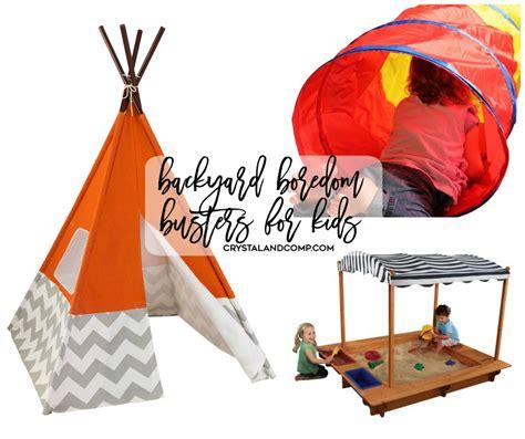 backyard toys for kids 25 backyard boredom busters for kids crystalandcomp com