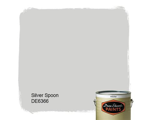 silver spoon de6366 dunn edwards paints