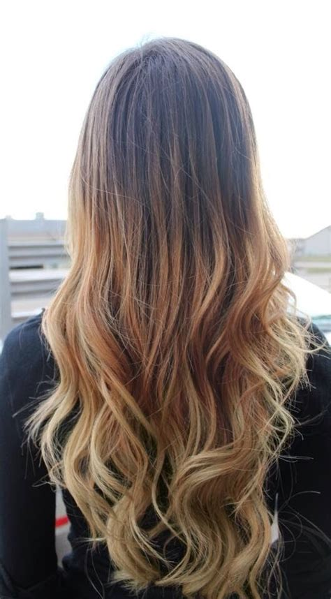 brunette to blonde ombre images 25 ombr 233 hair tutorials