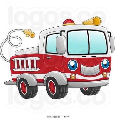 Jumping Beans Blue Firetruck truck clipart black and white clipart panda free