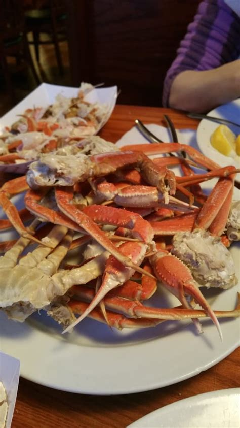Pj Lobster House by All You Can Eat Snow Crab Legs Only On Tuesday Not Bad