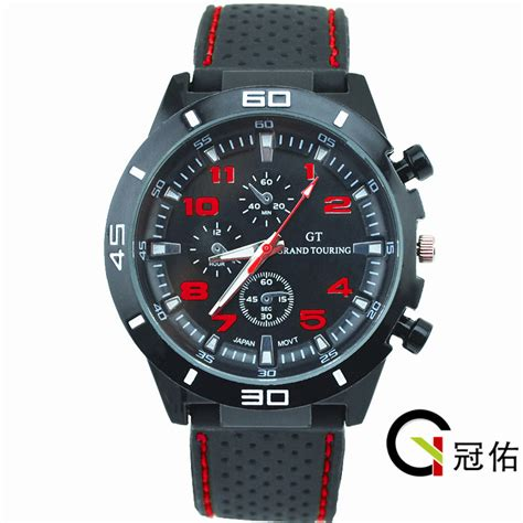 silicone sport watches for running cycling mountain