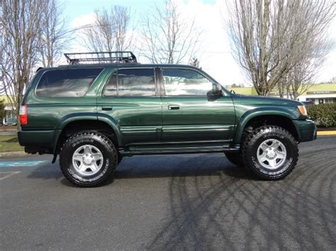 1999 toyota 4runner sr5 4wd moonroof trd sport pkg 1999 toyota 4runner limited 4dr 3 4l 6cyl 4wd rr diff locks lifted 33 quot