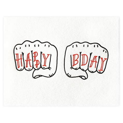 happy birthday tattoo bench pressed happy birthday greeting card greer