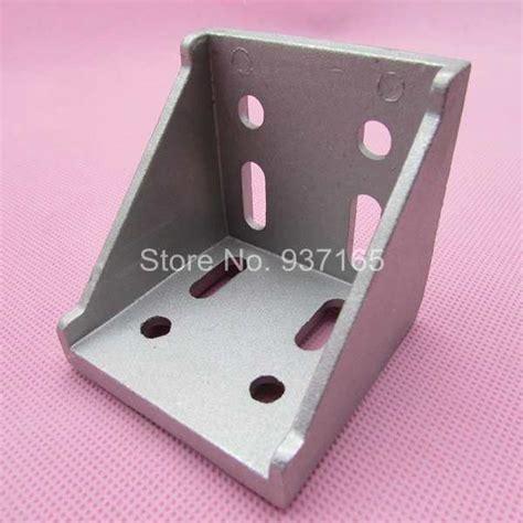 Angle Bracket 6060 cnc diy 6060 corner fitting 60x60 home decorative angle brackets aluminum profile accessories