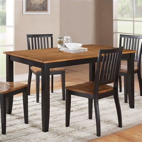 steve silver company candice rectangular dining table in