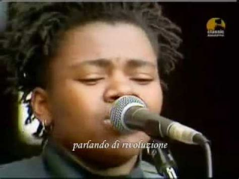 tracy chapman fast car testo tracy chapman talkin about a revolution live sub ita
