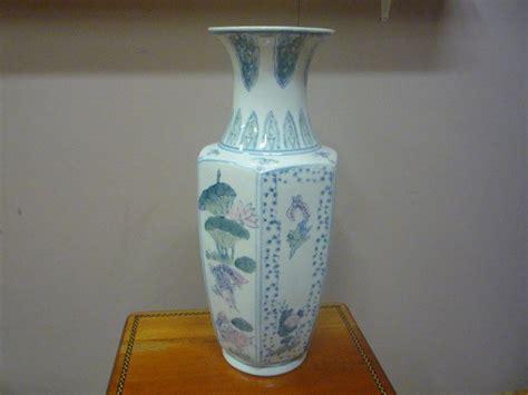 Large Asian Floor Vases Oriental Vase Large Hand Painted Vase Painted Vases And
