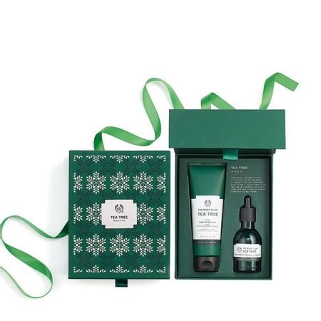 The Shop Tea Tree Trial Kit Mini Untuk Jerawat give back with the shop s wildest per my