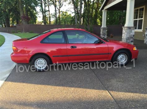 classic  honda civic dx manual transmission   miles original black interior  sale