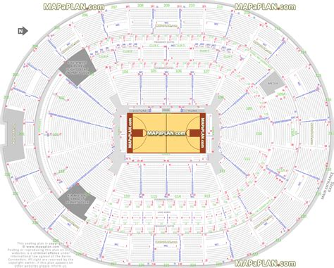 Prudential Center Floor Plan by Orlando Amway Center Orlando Magic Stadium Nba