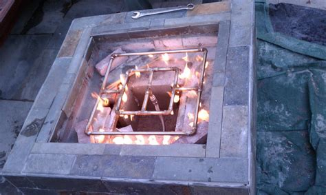 how to build an outdoor gas pit outdoor pit gas burner modern patio outdoor
