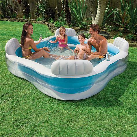 pool bauhaus intex gartenpool family lounge 229 x 229 x 66 cm 0 88 m 179