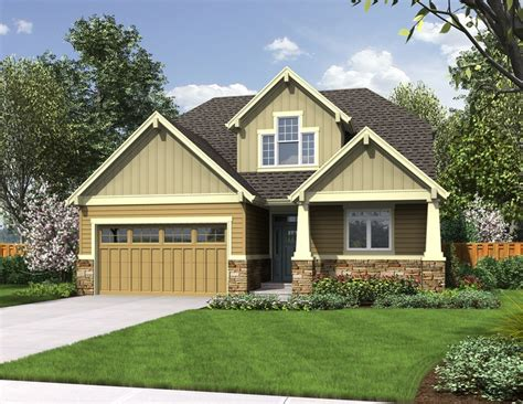 small craftsman style home plans the nehalem small house plans with craftsman style charm