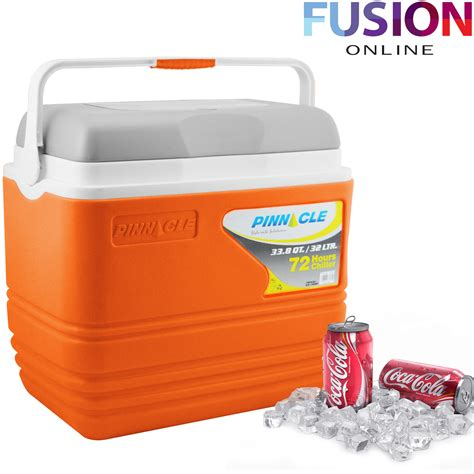 Puku Cooler Box Orange 32l coolbox large blue cooler box cing picnic food insulated travel ebay