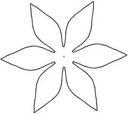 Paper Flower Cut Out Template by Paper Flower Cut Out Patterns Clipart Best