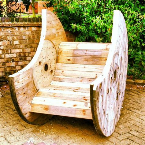 Cable Reel Rocking Chair by Cable Drum Rocking Chair On Etsy 163 200 00 Craft
