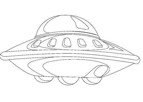 free ufo coloring pages