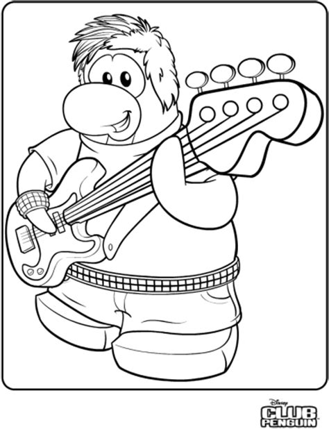 saraapril in club penguin stompin bob coloring page