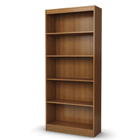 kmart 5 shelf bookcase cherry 5 shelf bookcase displays your library at sears
