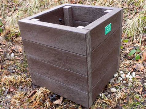 Recycled Planter by Recycled Plastic Planters Playscape