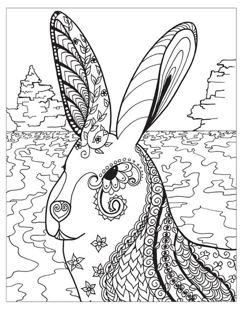 zendoodle coloring pages for adults zendoodle animal coloring pages for adults coloring pages