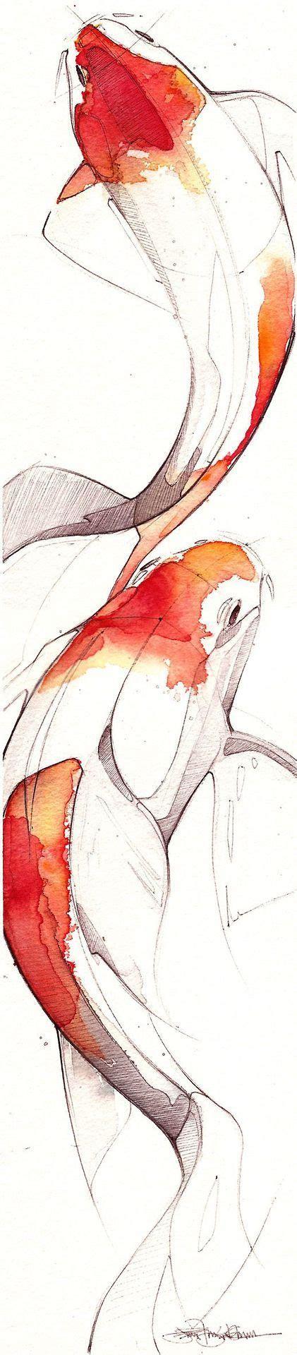 Drawing Towards Watercolor