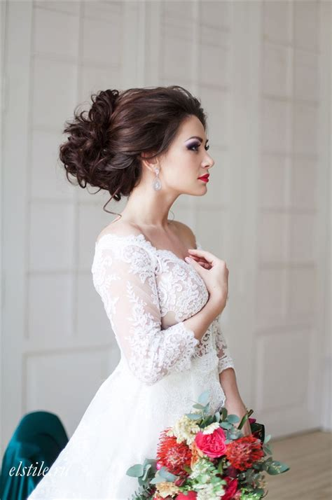 Wedding Hairstyles For Lace Dresses by 26 Chic Timeless Wedding Hairstyles From Elstile Deer