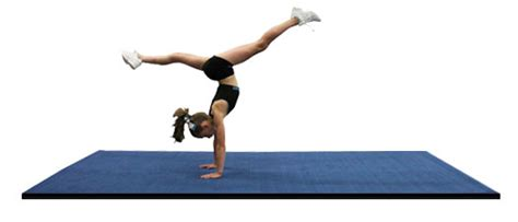 Practice Mats For Gymnastics by Practice Cheer Mats And Gymnastics Mats With Carpet Top