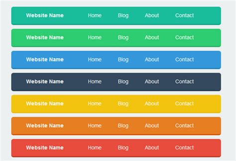 Html Top Navigation Bar by 25 Best Free Html5 Css3 Dropdown Menus Designssave