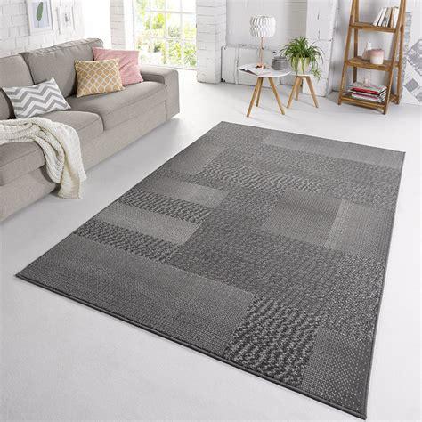 Teppich Grau Kurzflor Harzite