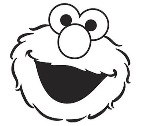 elmo face coloring page birthday coloring pages elmo