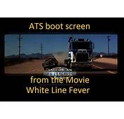 ATS Boot Screen With The Wallpaper From Movie White