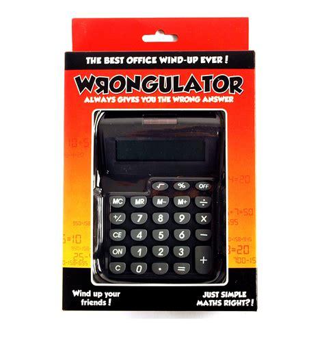 calculator jokes wrongulator the calculator that always gives the wrong