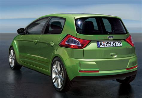 Rendering Ford S Small Car For India