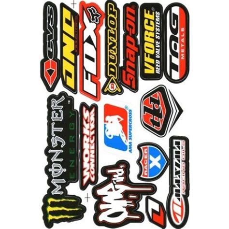 Ea Cutting Sticker Decal Code Yamaha 1 Sponsor Logo racing sticker sheet racing 003